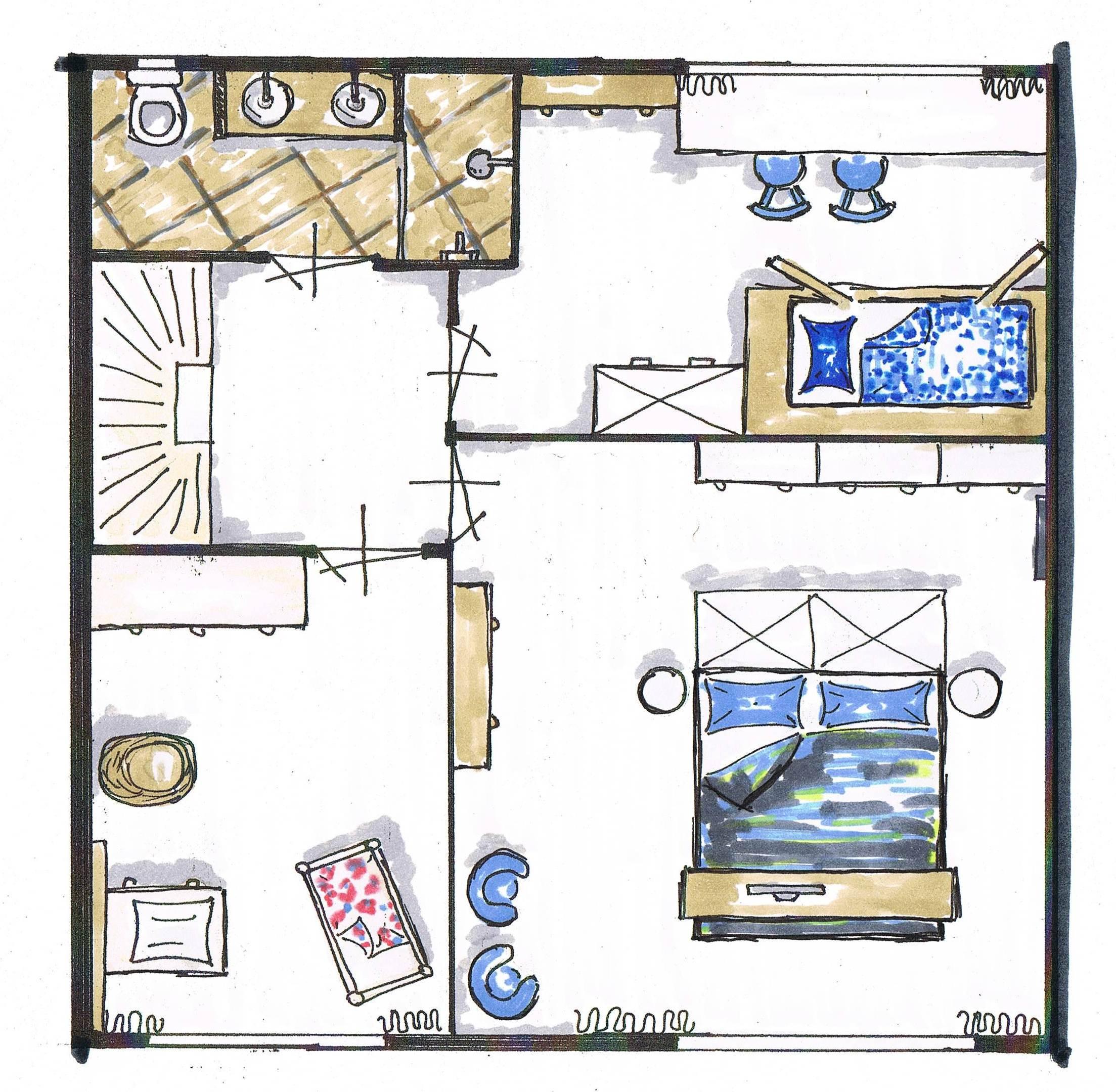 indeling woning eerste verdieping